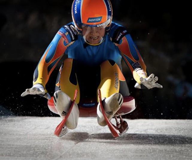 2018 Olympic Luge (photo source: BYU The Daily Universe)