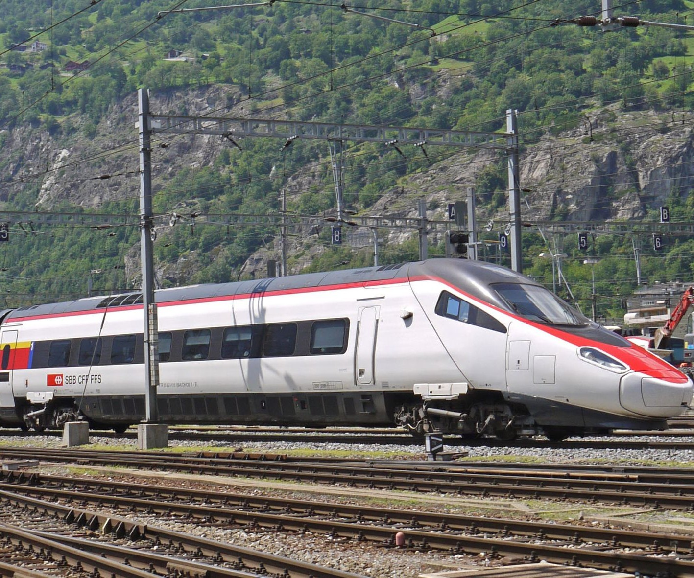 German high-speed train