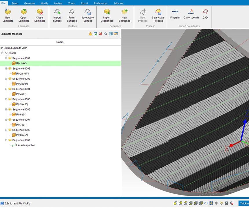 CGTech releases VERICUT Composite Applications Software 8.1.