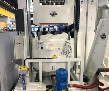Hexion's Hexi-Bag materials storage system for wind blade manufacturing.