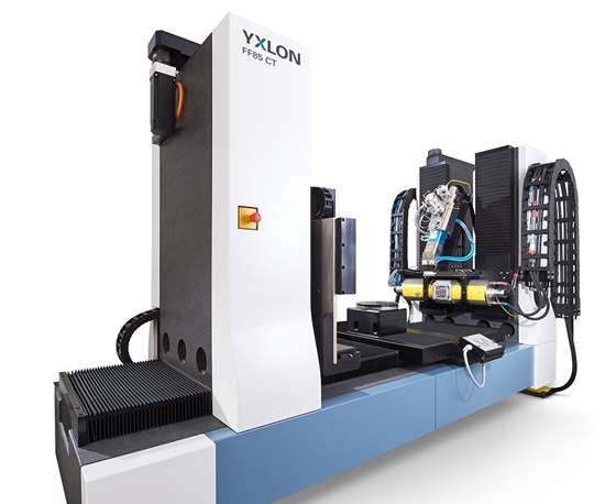 YXLON FF85 CT computer tomography system.