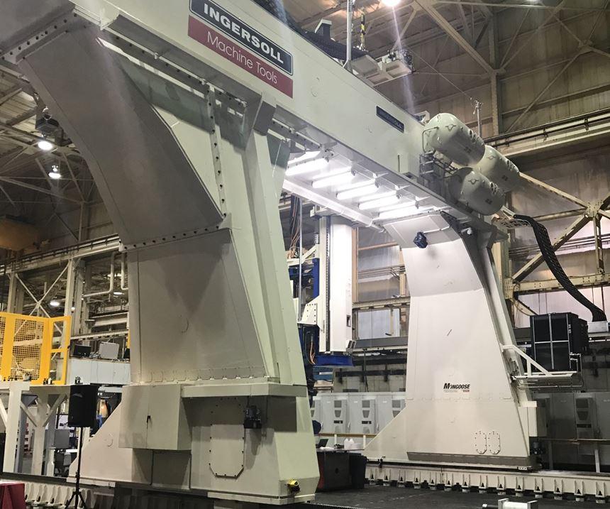 AFP machine for composite parts