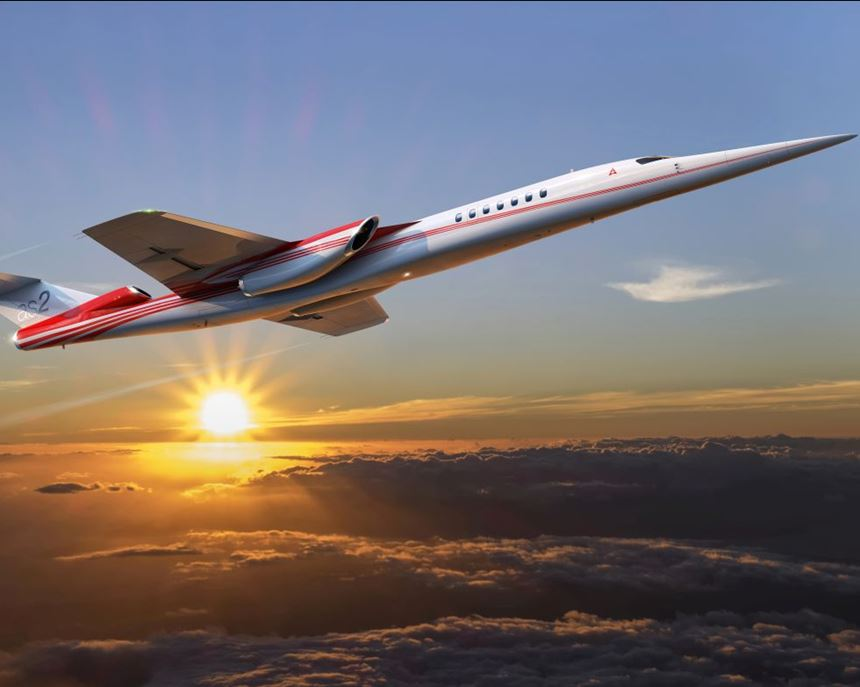 Aerion AS2 supersonic aircraft concept