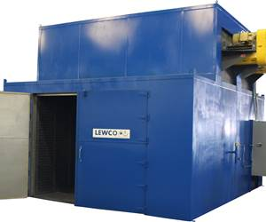 Lewco curing oven