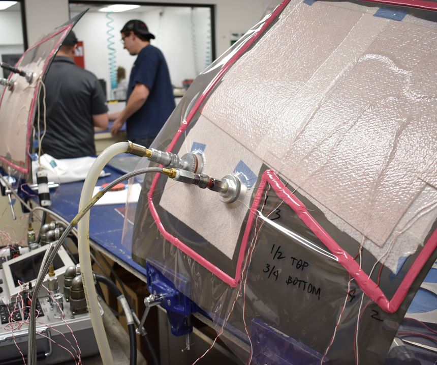 Abaris Training Resources composites repair, vacuum bagging