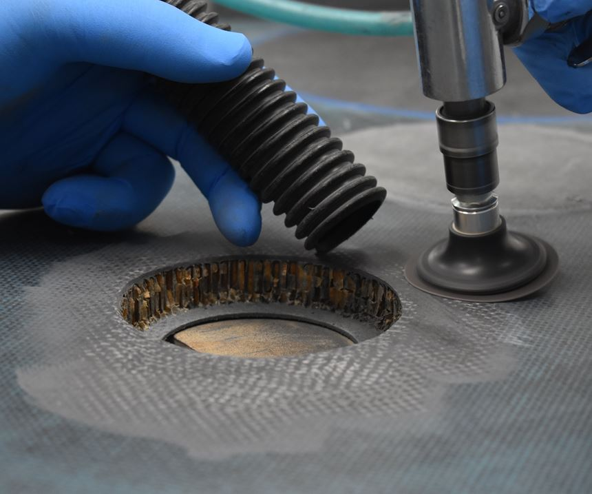 Abaris Training Resources composites repair, scarfing