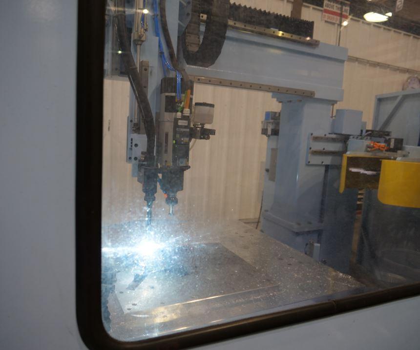 DMS machine center.