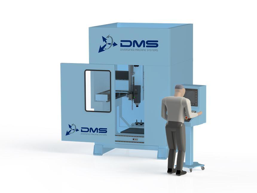DMS Hybrid Two3 machine center.