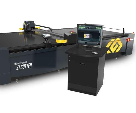 GERBERcutter Z1 cutting table.