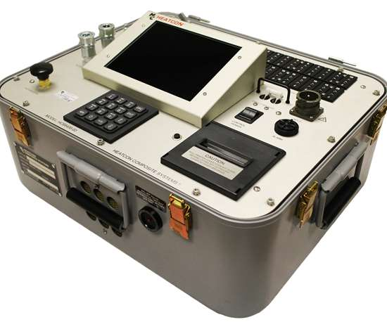 HEATCON HCS9400-02 induction heating technology for composite repair.