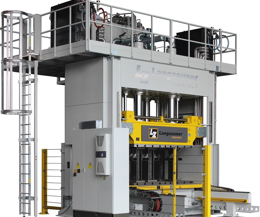 Langzauner compression molding technology.