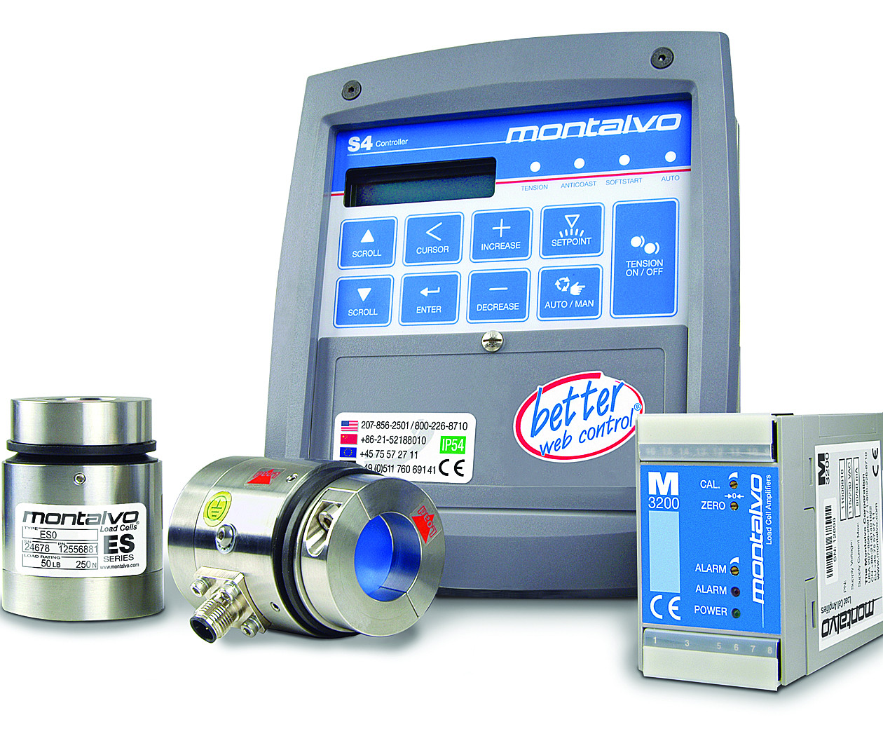 Montalvo's tension control products.