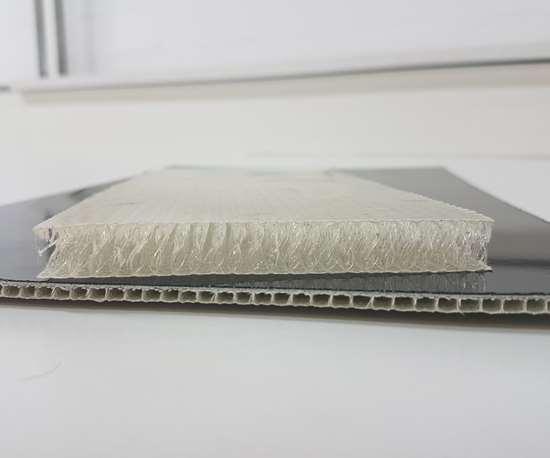 Parabeam 3D E-glass and hybrid fabrics, core materials.