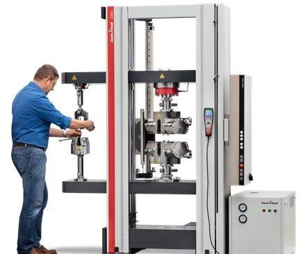 Zwick testing machine
