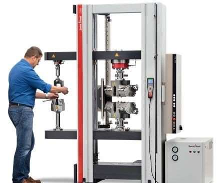 Zwick testing machine