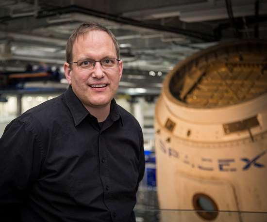 Dr. Charles Kuehmann, vice president of materials engineering for SpaceXand Tesla Motors.