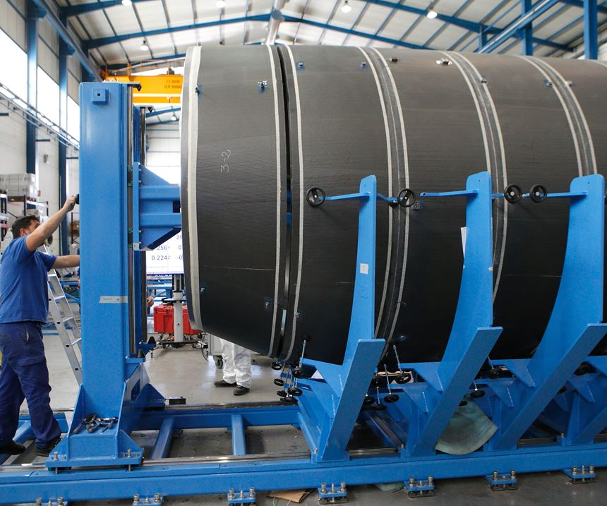 demonstrator fuselage