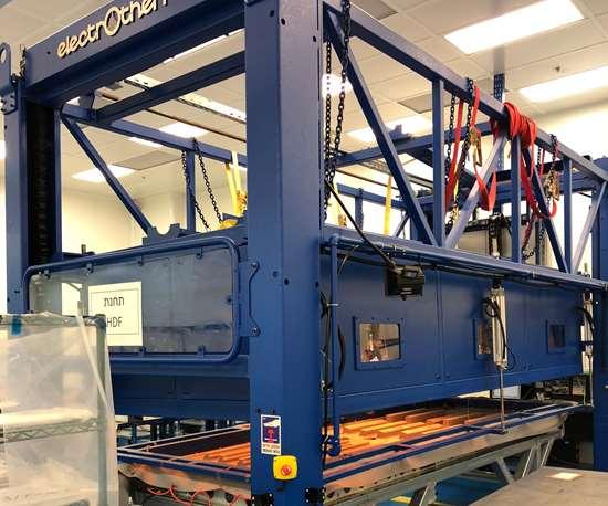 hot drape forming (HDF) machine