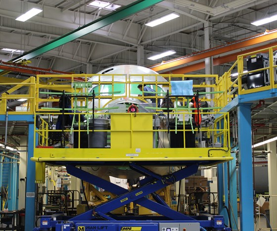 787 manufacturing facility