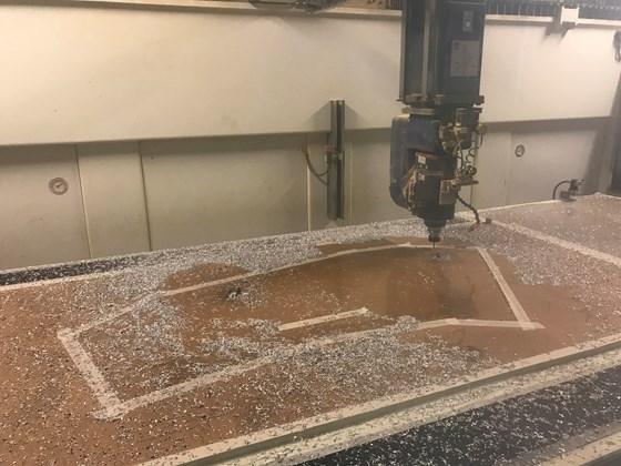 CMS CNC machine