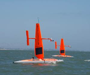 Drones: Unpiloted composite vehicles head out to sea