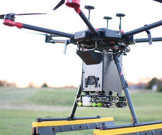 IGNIS drone payload package