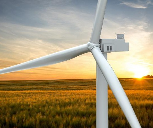carbon blade wind turbine