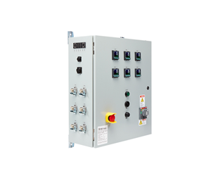 temperature control panel