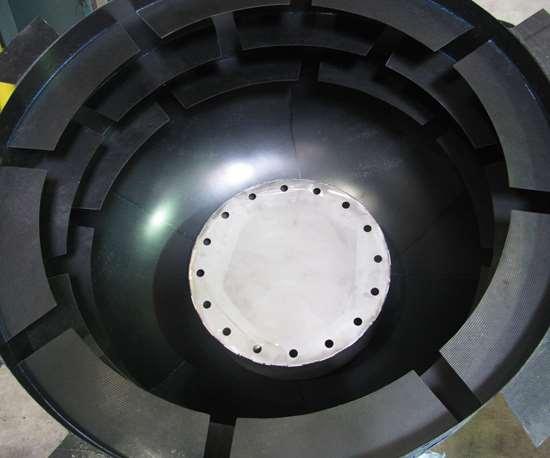 carbon-fiber anti-slosh baffles