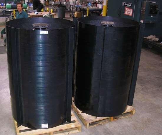 composite high pressure tanks