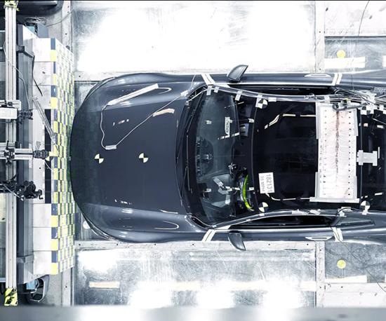 carbon fiber crash test