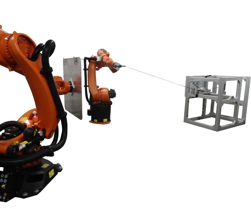 robotic and generative 3D wet winding process