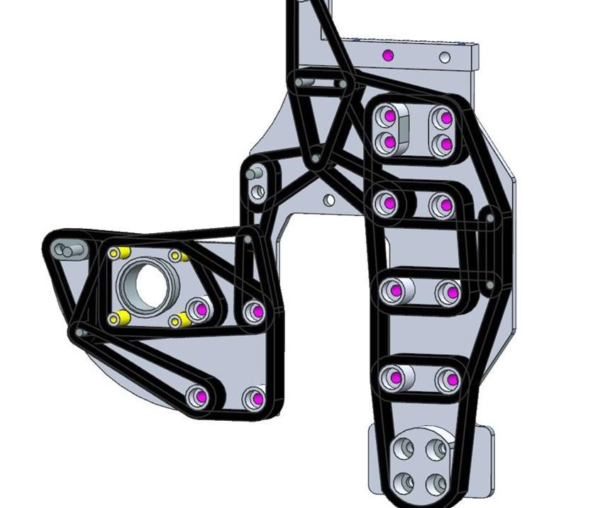 CAD 3D filament winding