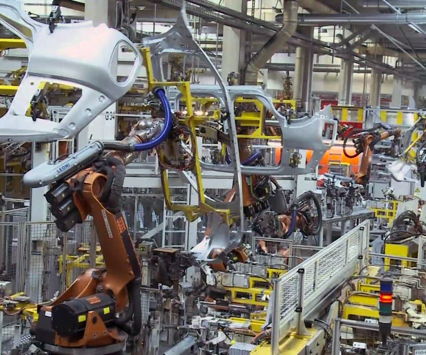 robot grippers, automotive