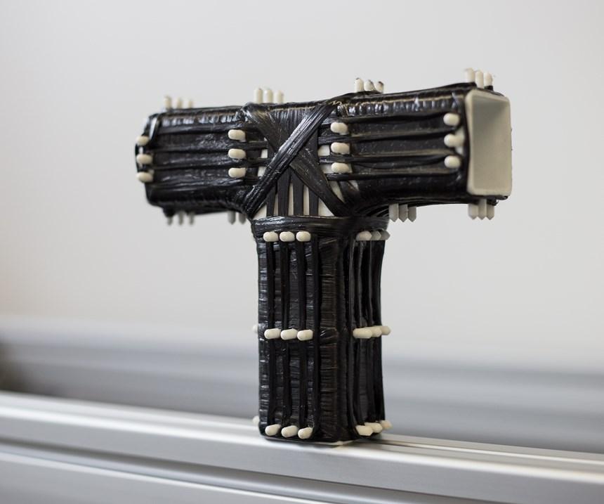 plastic mandrel, 3D filament winding, carbon fiber