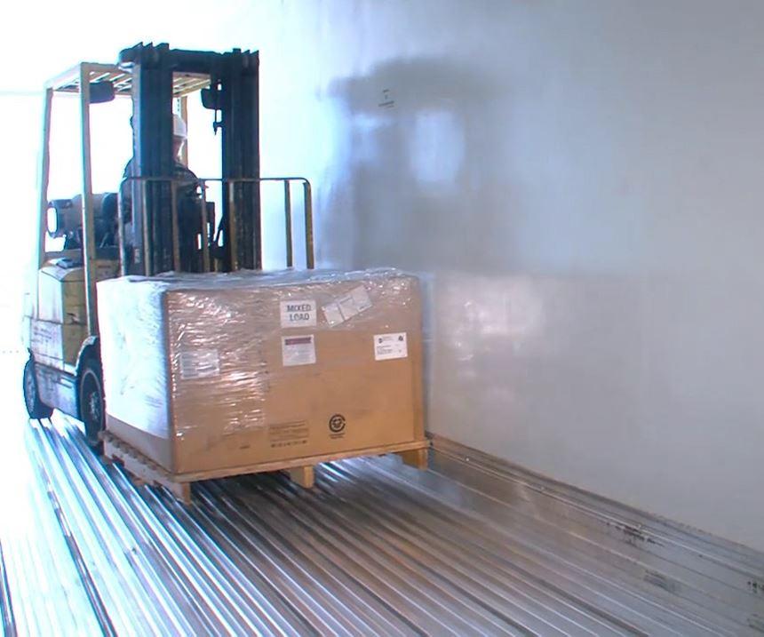 composite truck trailer liner