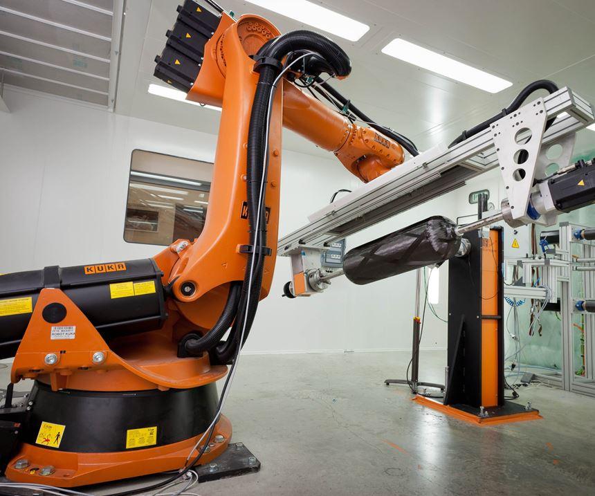 MF Tech robotic filament winder