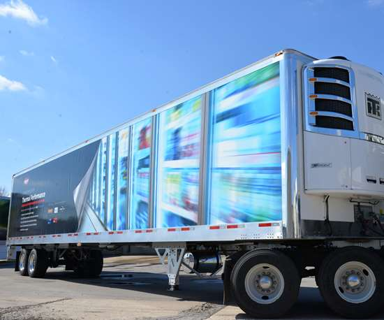 Wabash Cold Chain trailer