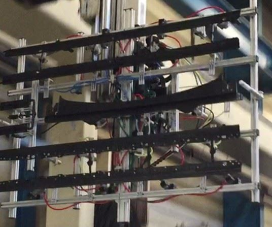 thermoplastic composite guide rails