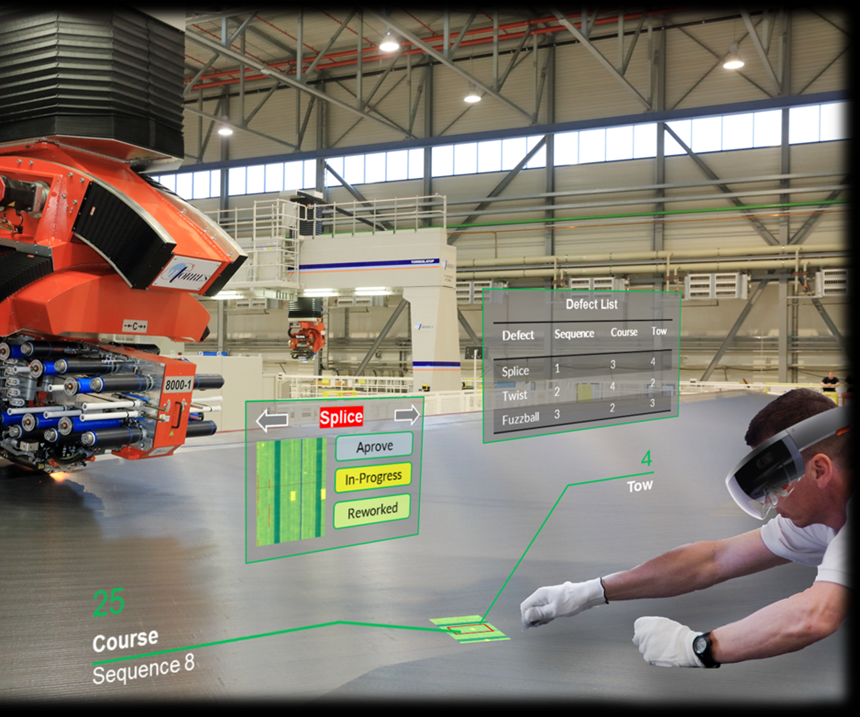 virtual reality in composites