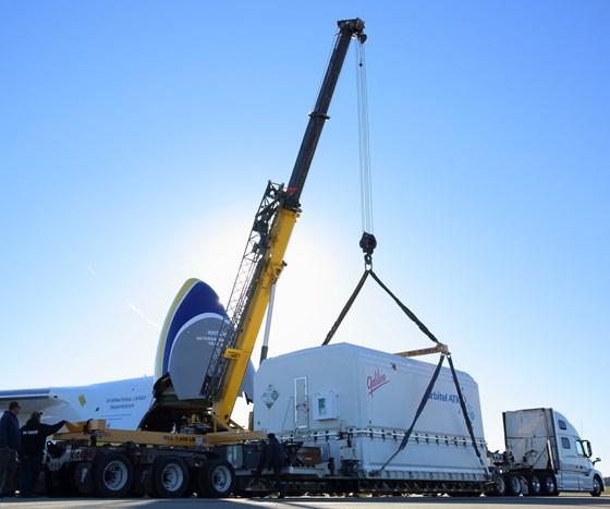 composite satellite container