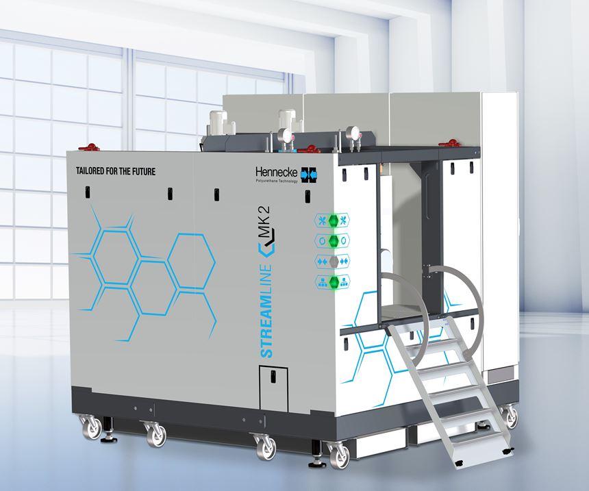 HP-RTM metering machine