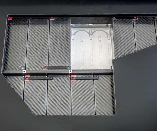 carbon fiber-reinforced plastic battery module for electric vehicle