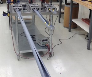 out-of-autoclave microsat boom