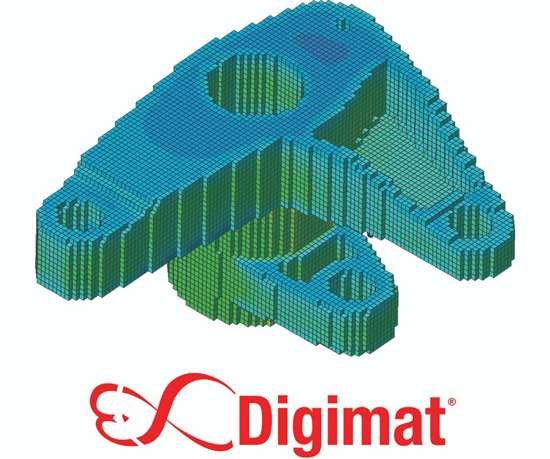 MSC Software Digimat mesh.