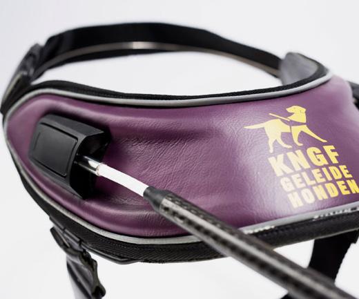 carbon fiber guide dog harness