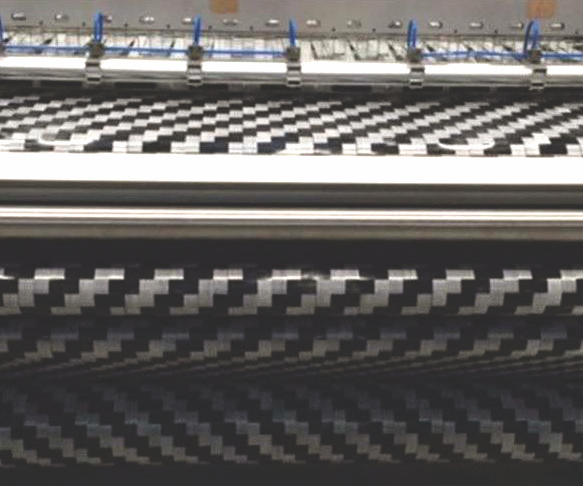 DORNIER flat tape-weaving machine, carbon fiber tows