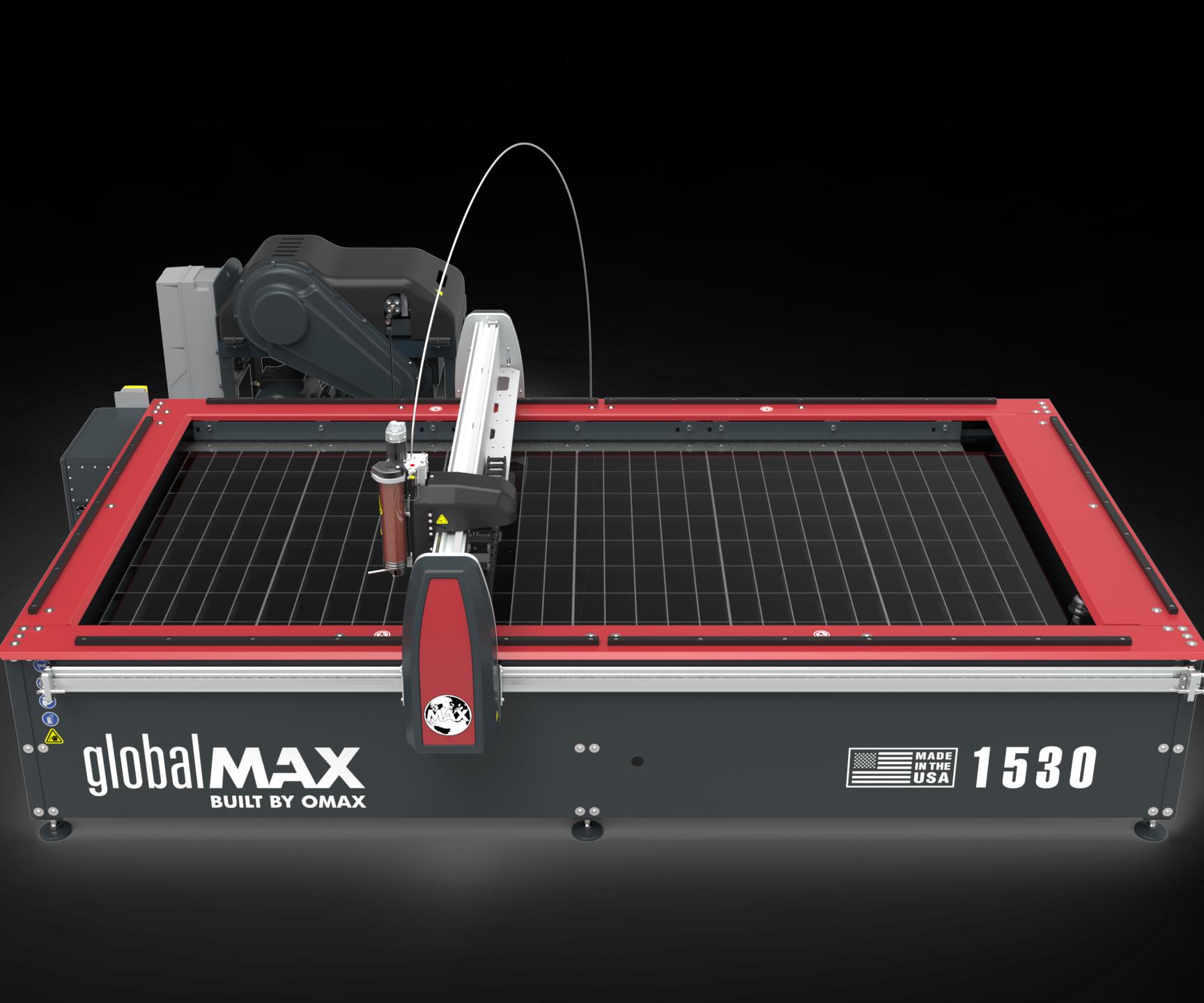 GlobalMAX 1530 waterjet
