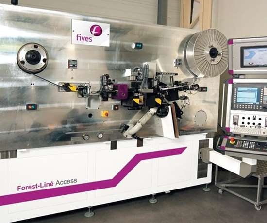 Access tape cutting system