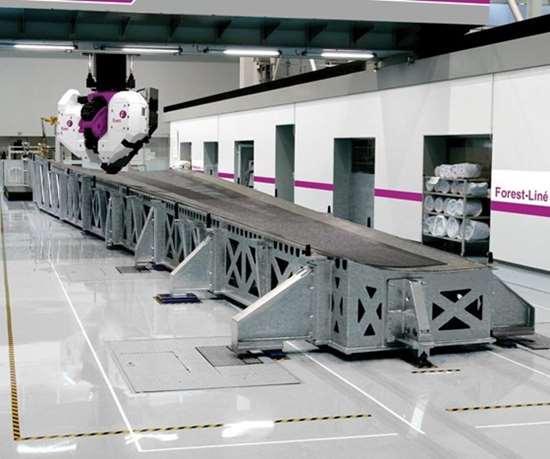 Atlas tape laying system